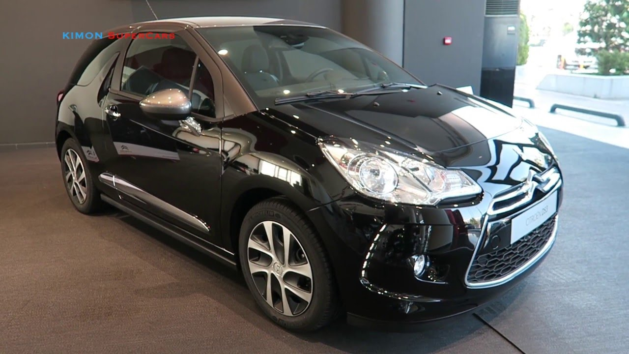 citroen ds3 exterior and interior youtube. Black Bedroom Furniture Sets. Home Design Ideas