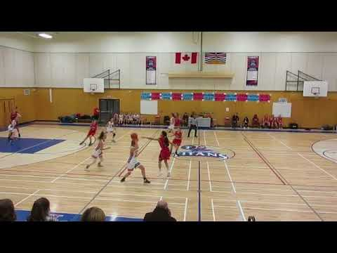 SRT VS MAPLE RIDGE SECONDARY, JUNIOR GIRLS BASKETBALL, LEAGU