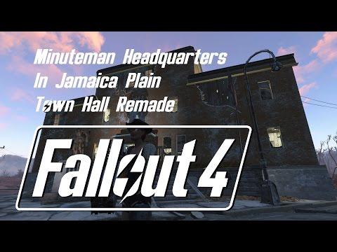 Fallout 4 Jamaica Plain Town Hall Rebuild
