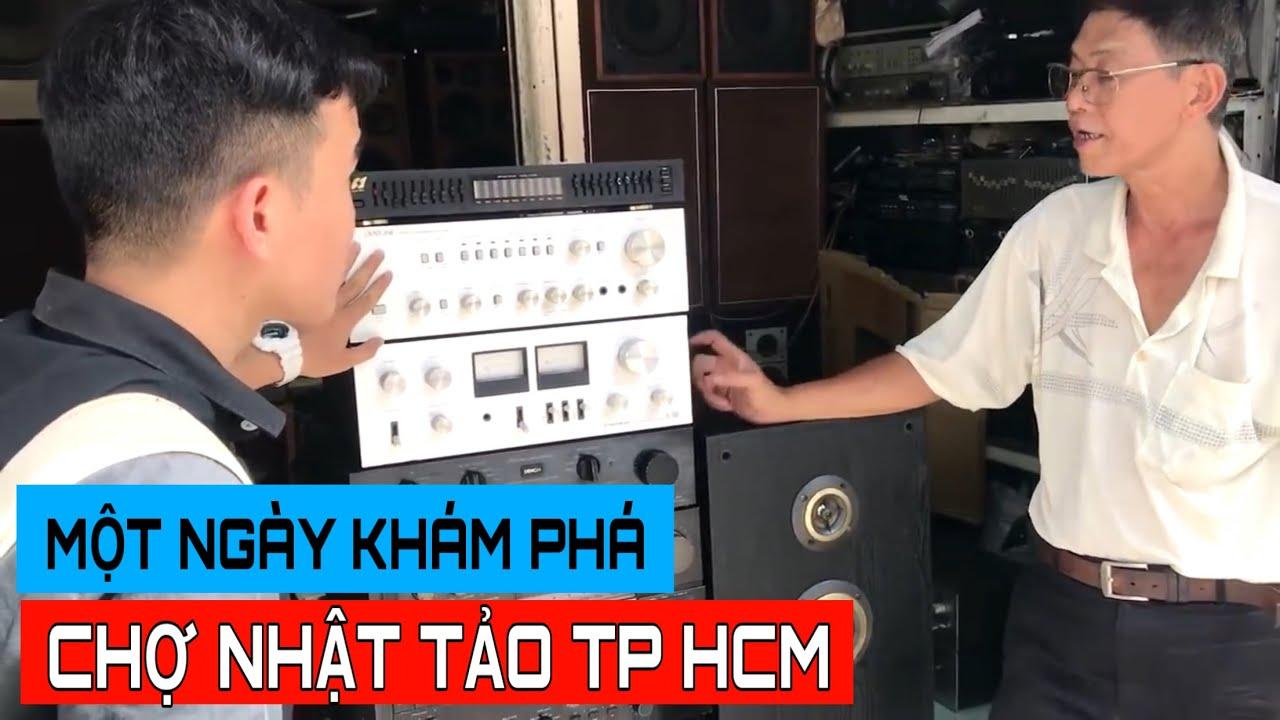 LHT | Khám Phá Chợ Nhật Tảo Bán Đồ Điện Tử Lớn Nhất Sài Gòn | Đồ Điện Tử Giá Rẻ | Amply Chỉ 200K