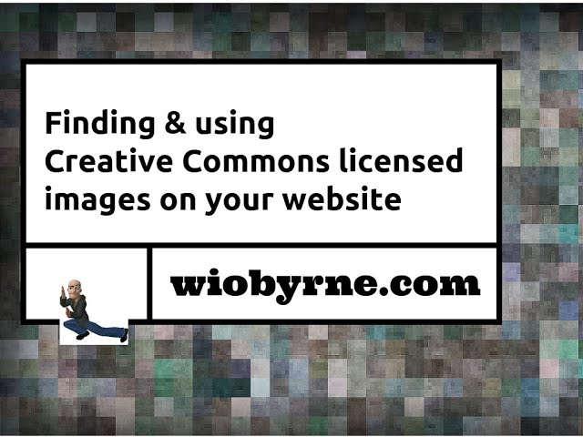 Finding & using Creative Commons images on your website