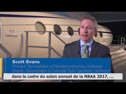 NBAA 2017: les dernières nouvelles de Gulfstream!
