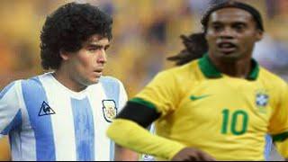 vuclip Maradona Vs Ronaldinho ● Goals & Skills