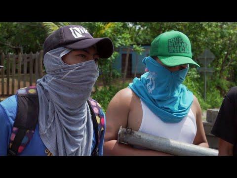 Video: Inside Nicaragua's rebel stronghold of Masaya