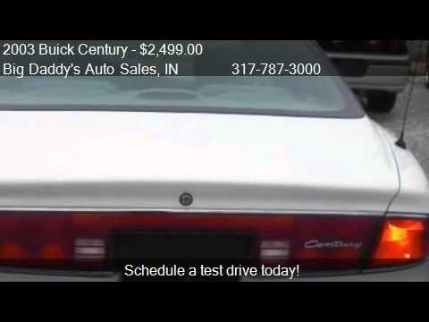 2003 Buick Century Custom - for sale in Indianapolis, IN 462