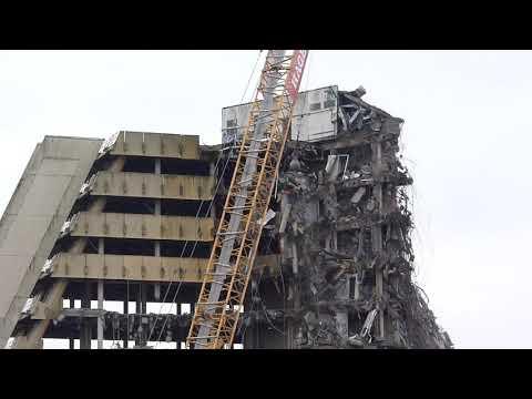 OPD City Nord Hamburg Abriss