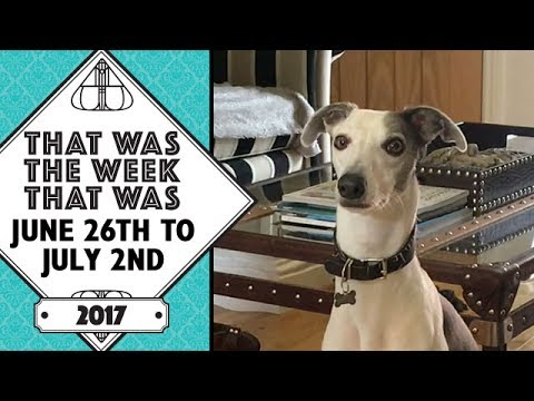 VLOG - That Was The Week That Was June 26th to July 2nd 2017