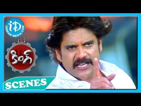 King Movie - Nagarjuna Best Action Scene