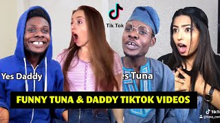 Funny Tuna Comic Tiktok Compilation 2020 | Tuna And Daddy African Comedy