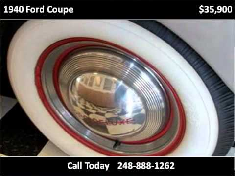 1940 Ford Coupe Used Cars Detroit MI