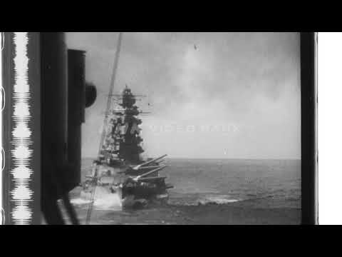 NHK VIDEO BANK -  The Imperial Japanese Navy's Combined Fleet (1944)