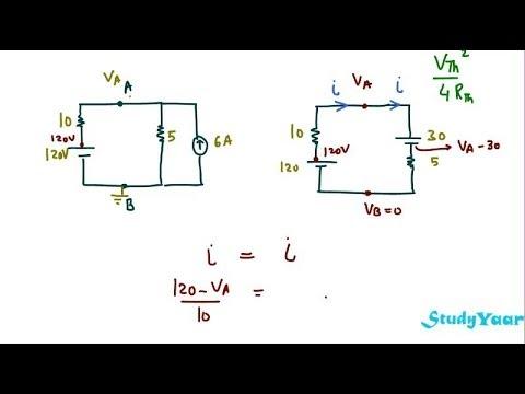 maximum power transfer theorem solved problems pdf download