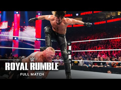 FULL MATCH - Brock Lesnar vs. John Cena vs. Seth Rollins: Royal Rumble 2015