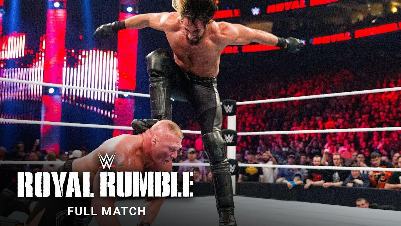 Download FULL MATCH - Brock Lesnar vs. John Cena vs. Seth Rollins: Royal Rumble 2015