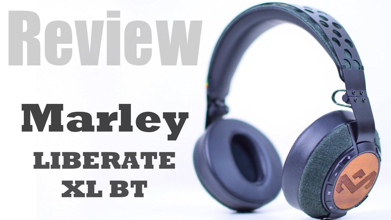 hochwertige bluetooth kopfhörer - marley liberate xl bt - youtube