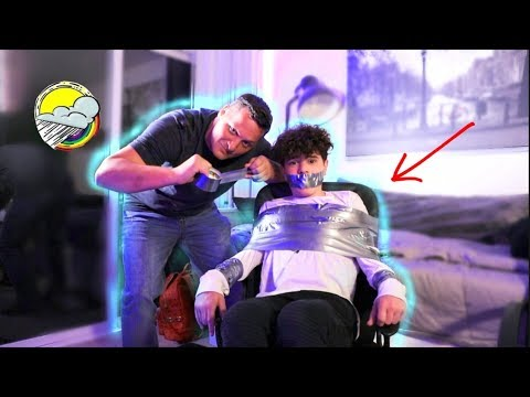 DUCT TAPED TO CHAIR w Billy Leblanc  Christian Lalama