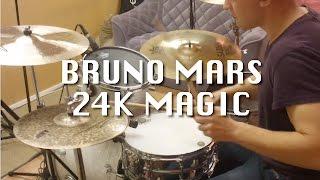 Bruno Mars - 24K Magic (Drum Cover)