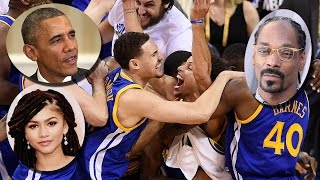 Celebs React to GS Warriors NBA Finals Win!