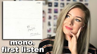RM mono playlist first listen/reaction #monoishere // ItsGeorginaOkay