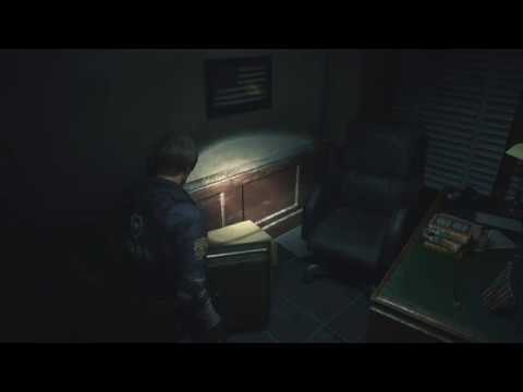 Resident Evil 2 Remake - How to open the West Office safe (L