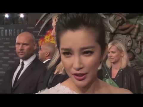 "Transformers 4: Age of Extinction: Li BingBing ""Su Yueming"" Berlin Premiere Interview"