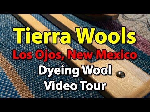 Tierra Wools - Dyeing Wool - New Mexico - UHD 4k