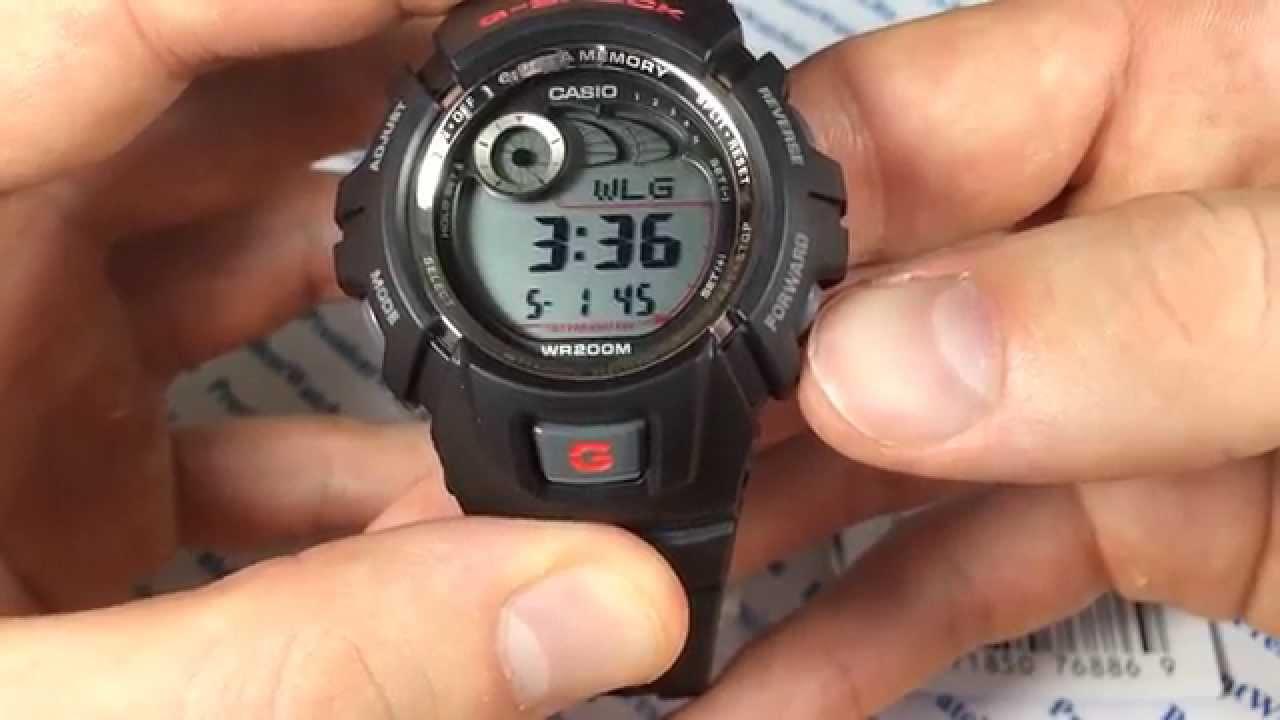 Наручные часы инструкция casio
