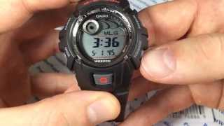Как настроить часы Casio G-SHOCK G-2900F-1V - инструкция от Presidentwatches.ru