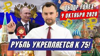Прогноз по рынку форекс на  09.10 от Тимура Асланова