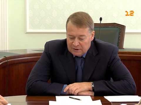 Совещание правительства Республики Марий Эл