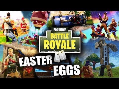 TODOS los EASTER EGGS y SECRETOS de FORTNITE: BATTLE ROYALE! - Infuser