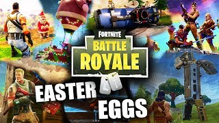 ALL THE EASTER EGGS AND SECRETS OF FORTNITE: BATTLE ROYALE! - Infuser