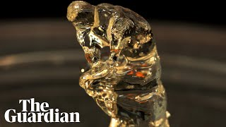 3D printer recreates Rodin's Thinker from gloop using light and liquid in under two minutes