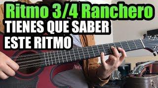 RITMO RANCHERO 3/4 - Bajo Quinto - Tutorial (Con Bajeos)