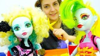 Видео для детей про куклы МонстерХай для девочек