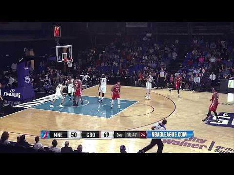Jordan Mickey NBA D-League Highlights: March 2017