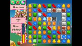 Candy Crush Saga: Level 143 (No Boosters 3★) iPad 4