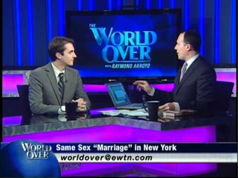 World Over - Holy See at the UN - Raymond Arroyo w Abp Chullikatt and Thomas Peters - 06-30-2011