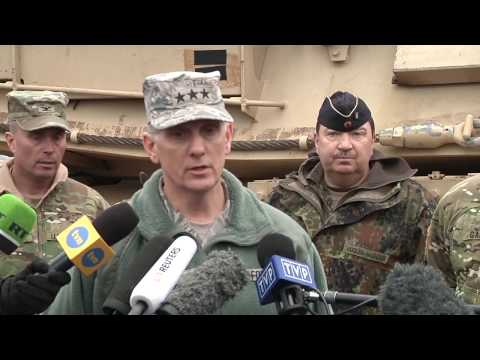 EUCOM Massive Deployment Port Operations Press Briefing