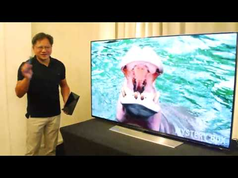 [Computex 2015] Introducing Nvidia TV Console 'Shield' by Jen-Hsun Huang CEO
