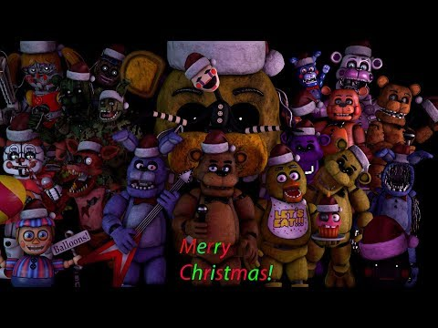 [FNAF\SFM] Merry FNAF Christmas Song By JT Music