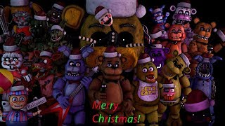 - FNAF SFM Merry FNAF Christmas Song By JT Music