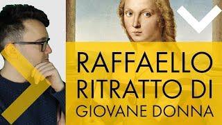 Raffaello - ritratto di giovane donna