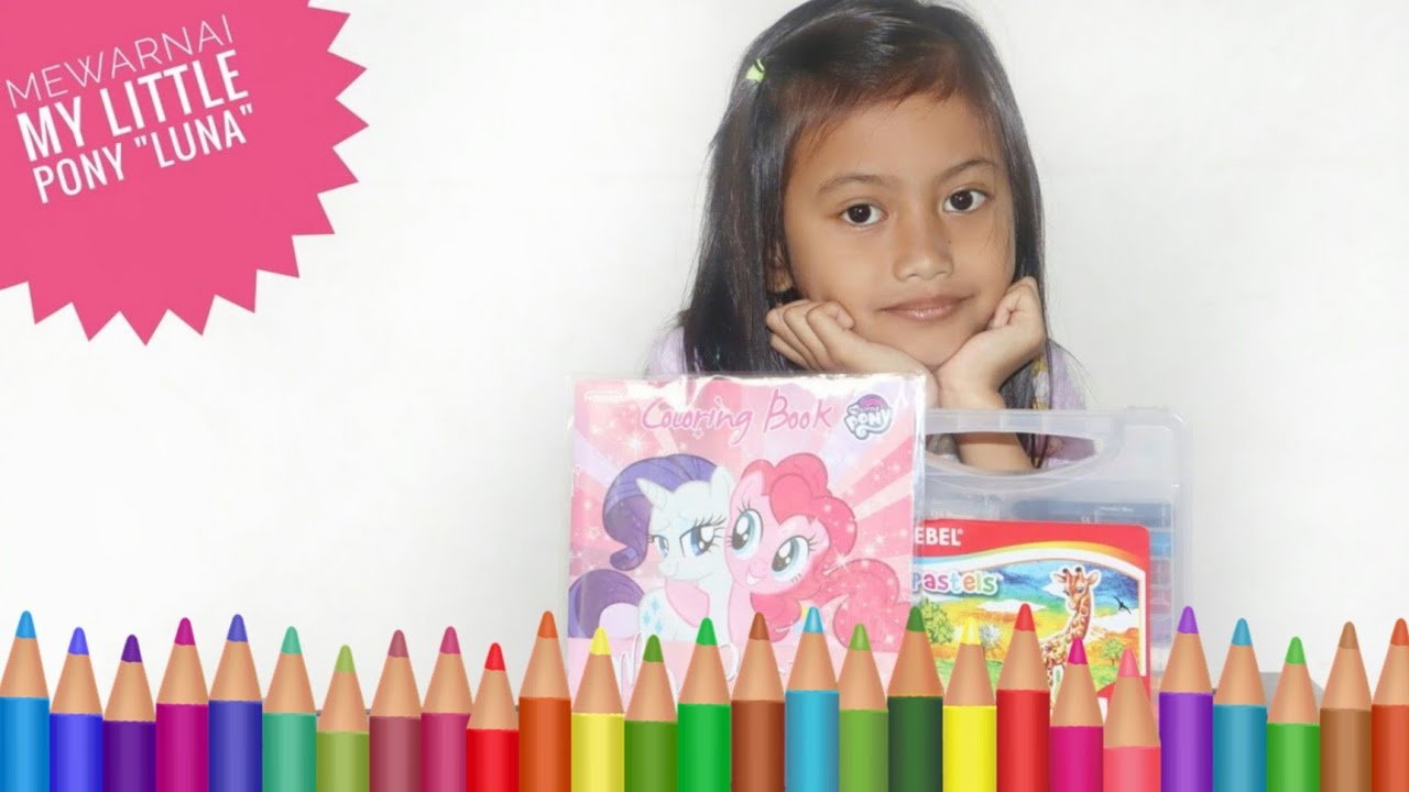 Mewarnai My Little Pony 🐴Nada Mewarnai Kuda Poni 🌸Nana Toys Review