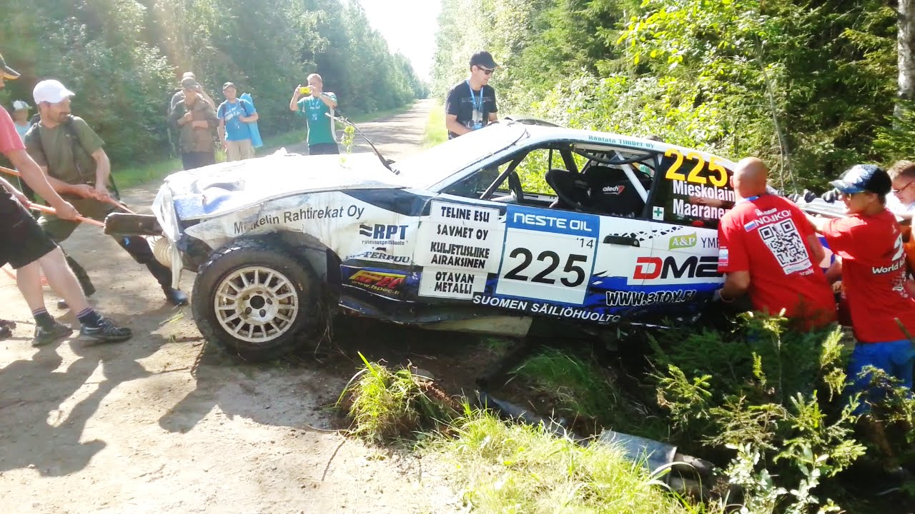 Best of wrc rally finland 2014 crash a lot of mistakes youtube