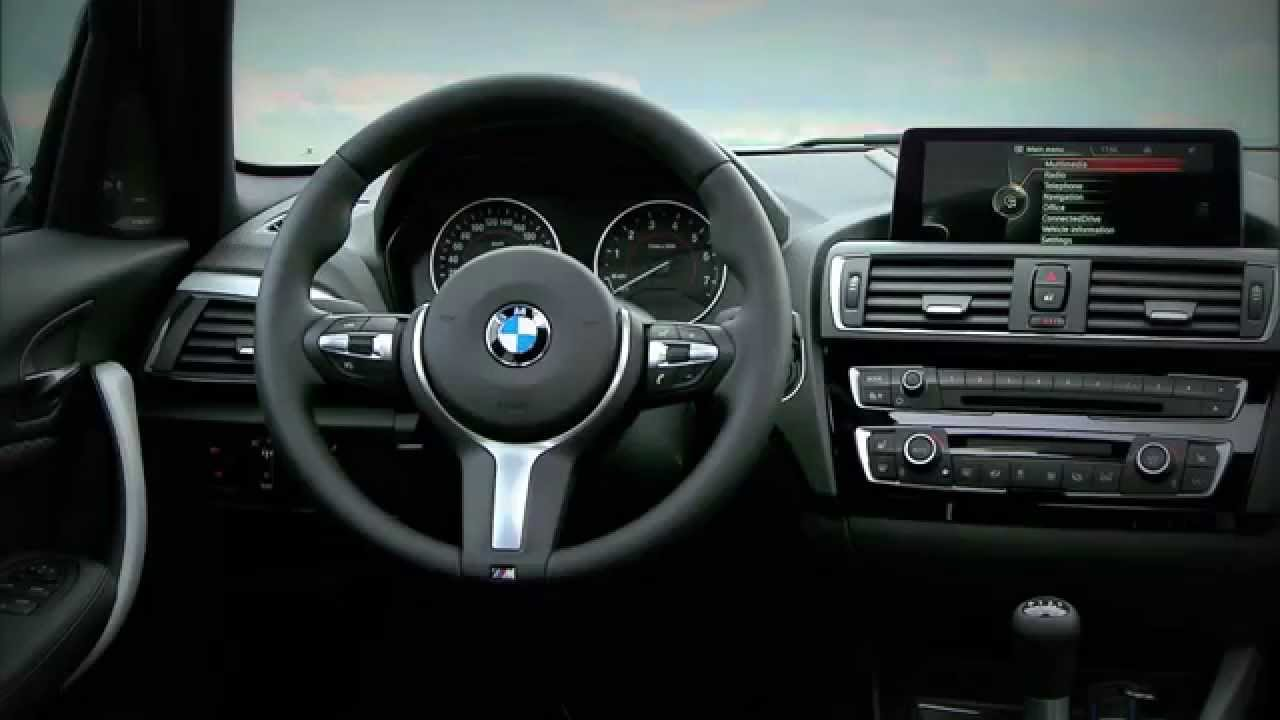 new 2015 bmw 1 series 125i interior youtube. Black Bedroom Furniture Sets. Home Design Ideas