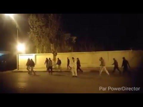 هجوم على palace  عاجل بالفديو شاهد ماذ حدث امام ملهى palace blida