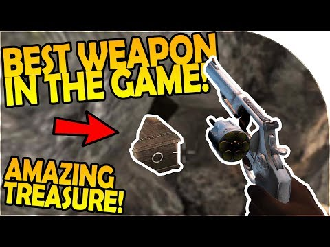 44 MAGNUM COMPLETE- BEST WEAPON IN GAME + AMAZING TREASURE - 7 Days to Die Alpha 16 Gameplay Part 45