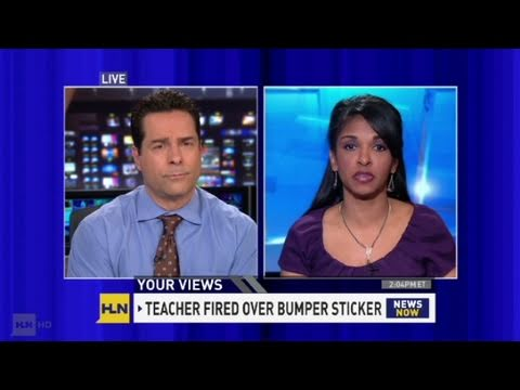 Cnn teacher fired for her bumper sticker