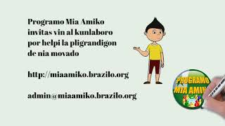 Programo Mia Amiko PMA - Prezentado 2021